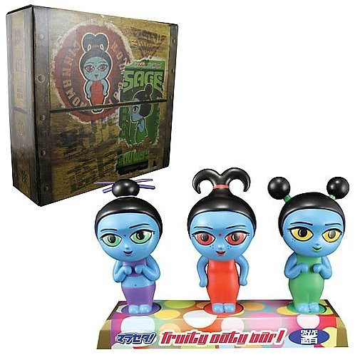 Fruity Oaty Girls Bobble Head Maquette Set