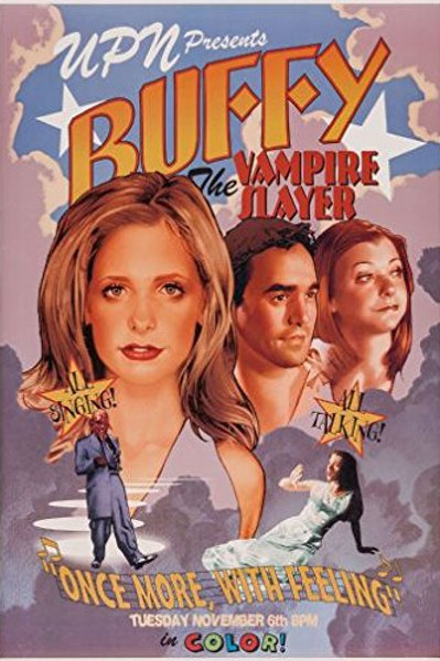 Buffy The Musical Poster Large 24 x 36