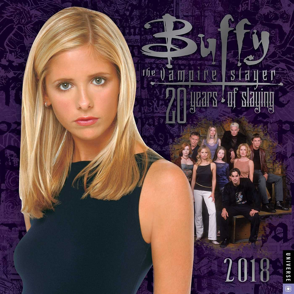 Buffy 2018 Wall Calendar