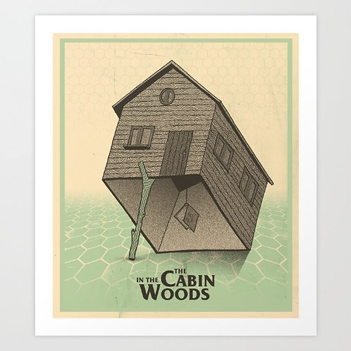 Cabin In The Woods Trap Art Print
