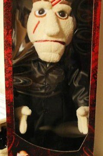 "Battle Damaged Angel Puppet 21"" Plush"