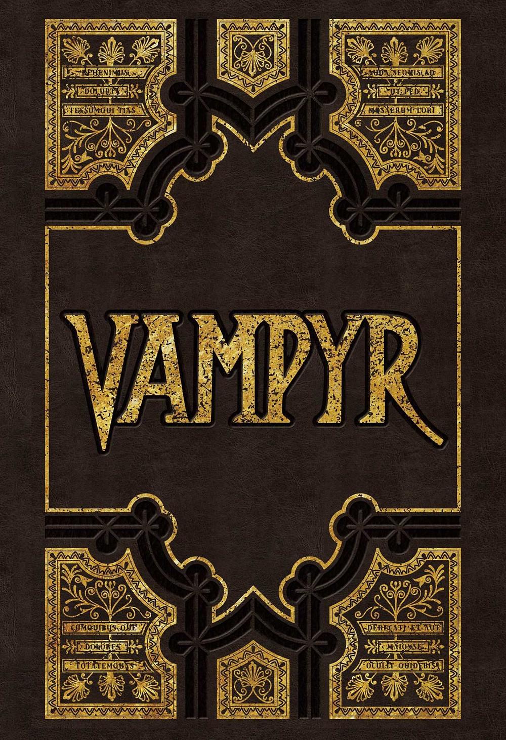 Vampyr Stationery Set