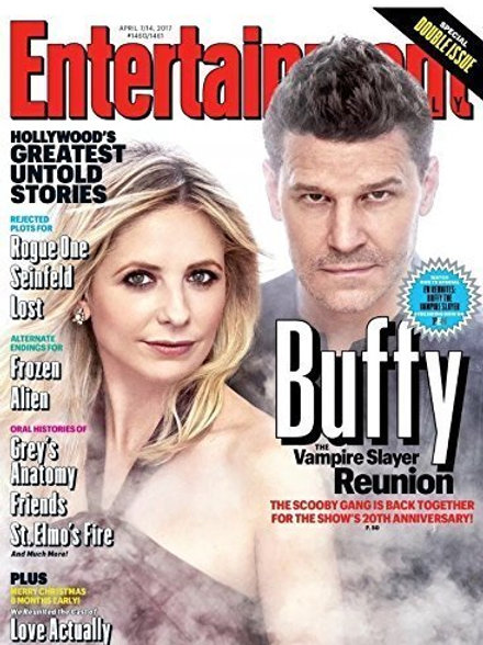 Entertainment Weekly Buffy 20th Reunion Cover