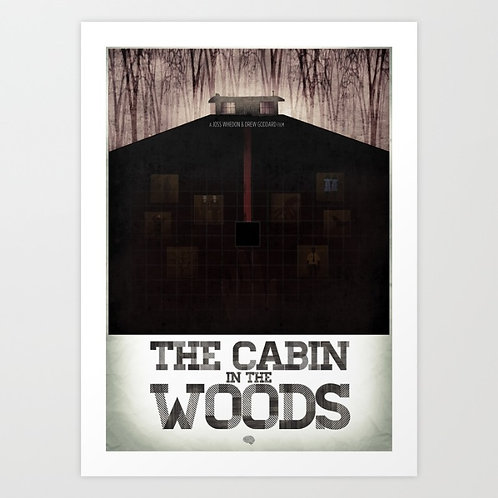 Cabin In The Woods Cellar Print