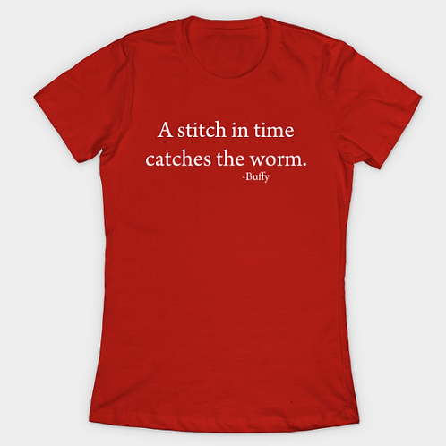 A Stitch In Time Catches The Worm Collection