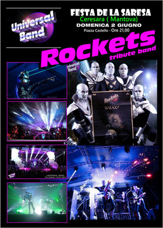 Tributo ai Rockets a Ceresara (MN) 02/06/2019