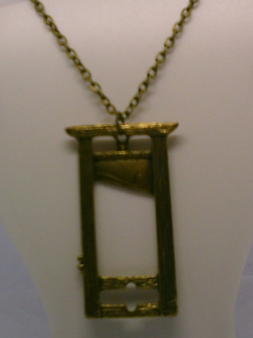Guilloutine Necklace