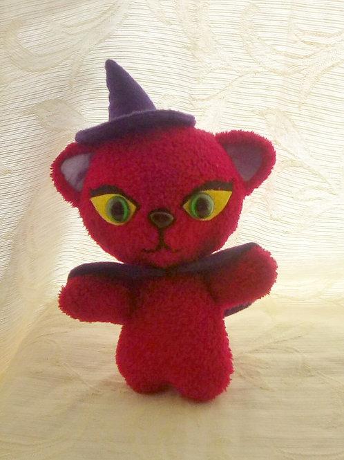 Witch Kitty Purple