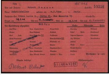 Buchenwald Desnos 2