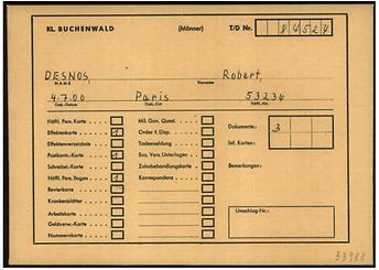 Buchenwald Desnos