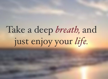 Relax, Recharge, and Replenish