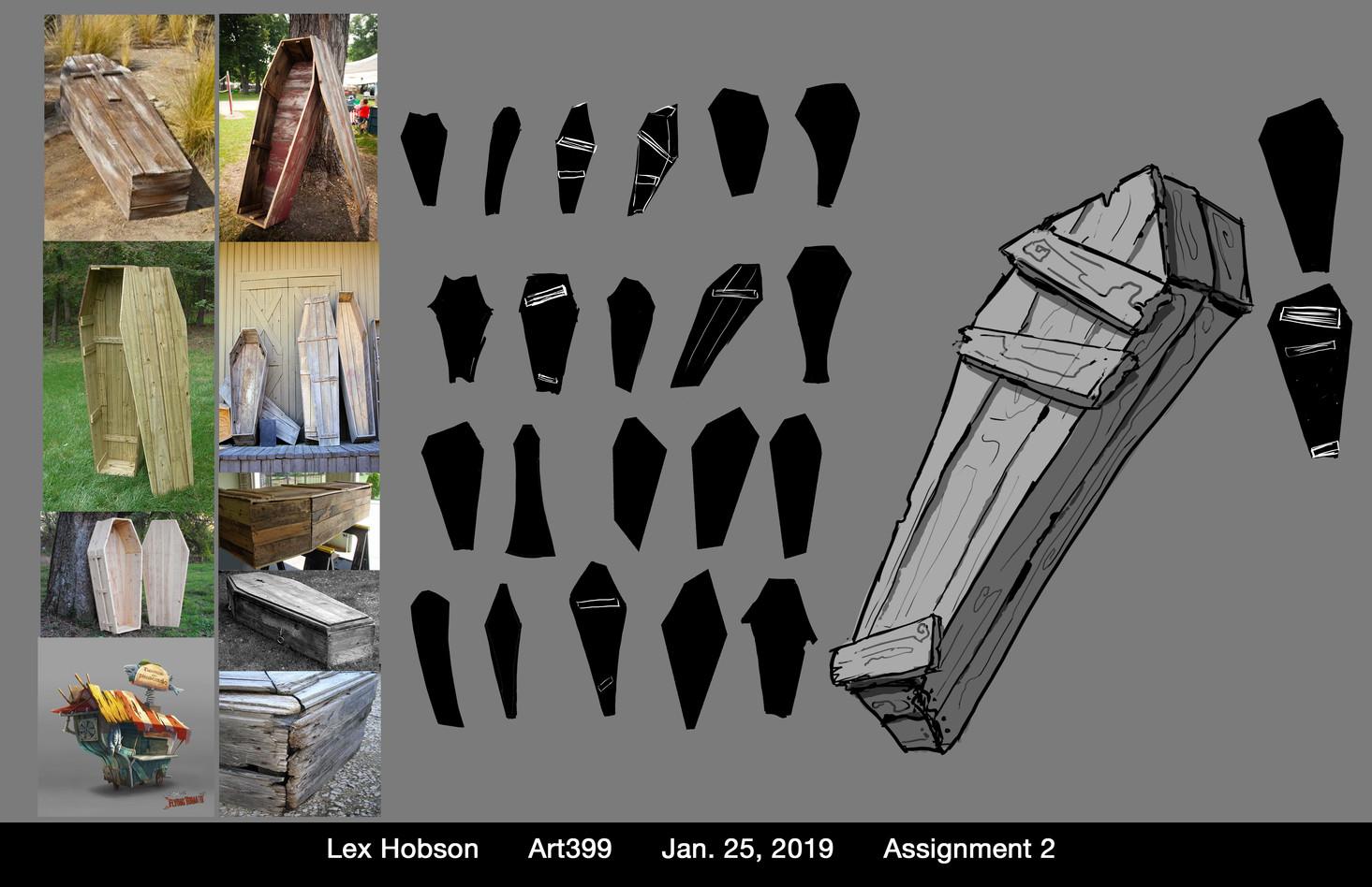 Coffin Design Sheet