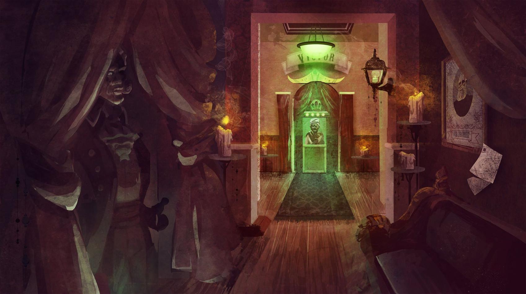 Bioshock Infinite Inspired Interior