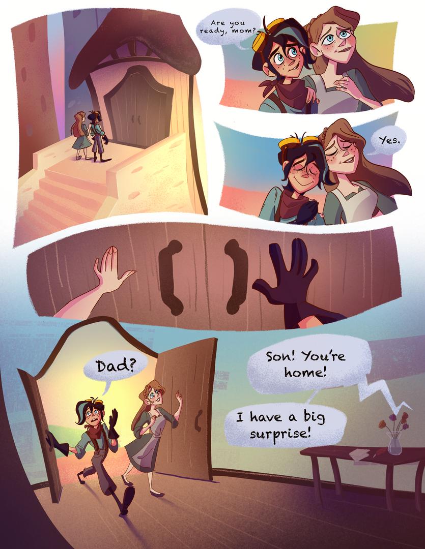 Tangled Series Fan Comic