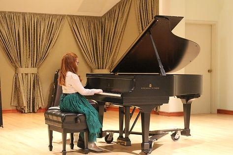 NPL Piano Studio Student