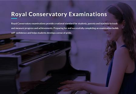 New Piano Lessons, NPL Piano Studio, piano lessons, Royal Conservatory examinations
