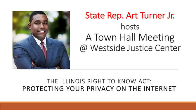 Illinois State Rep. Art Turner, Jr. to Lead  Town Hall on Major Consumer Issue