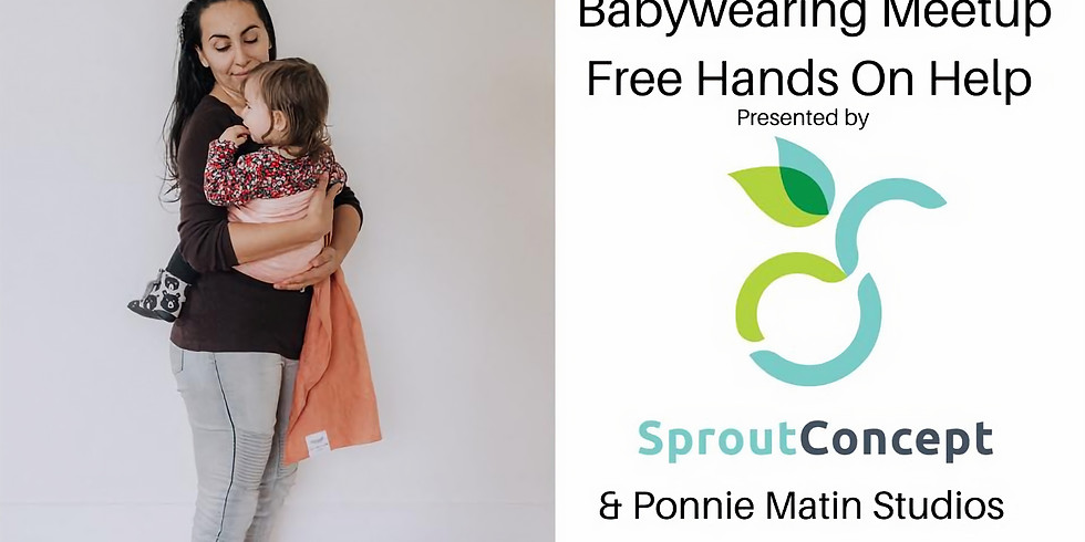 Babywearing Meetup - Free hands on help