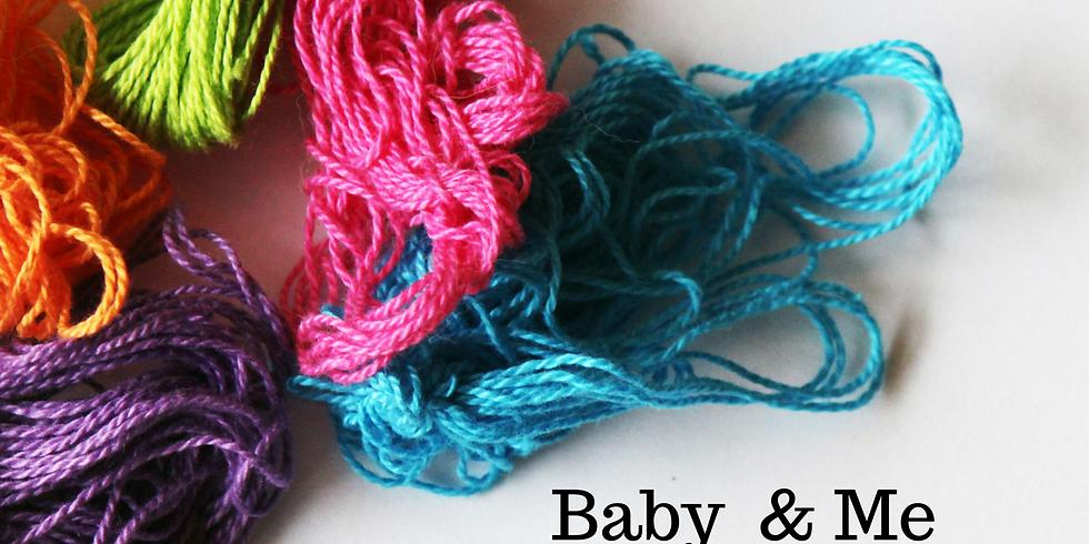 Mommy & Me, Craft & Play- Learn Tunisian Crochet