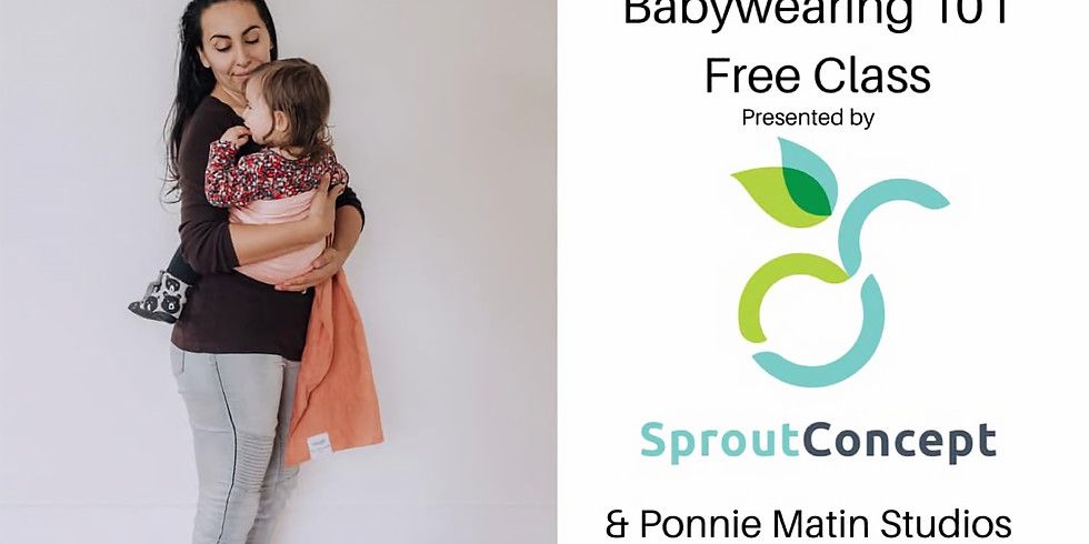 Babywearing 101 @ Sprout Concept