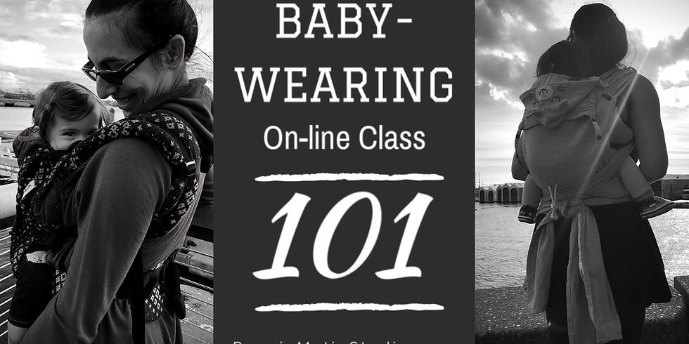 Babywearing 101 On-Line Webinar
