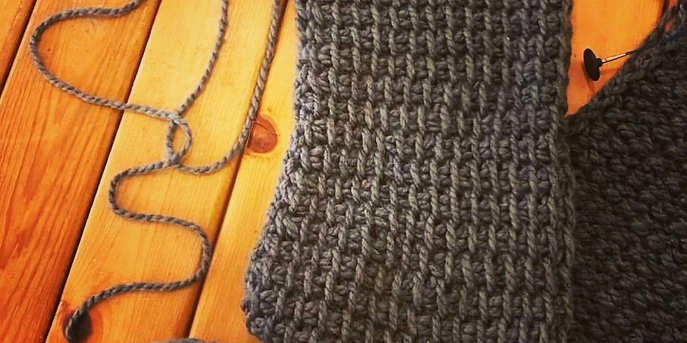 SOLD OUT - Intro to Tunisian Crochet @ Fibres West