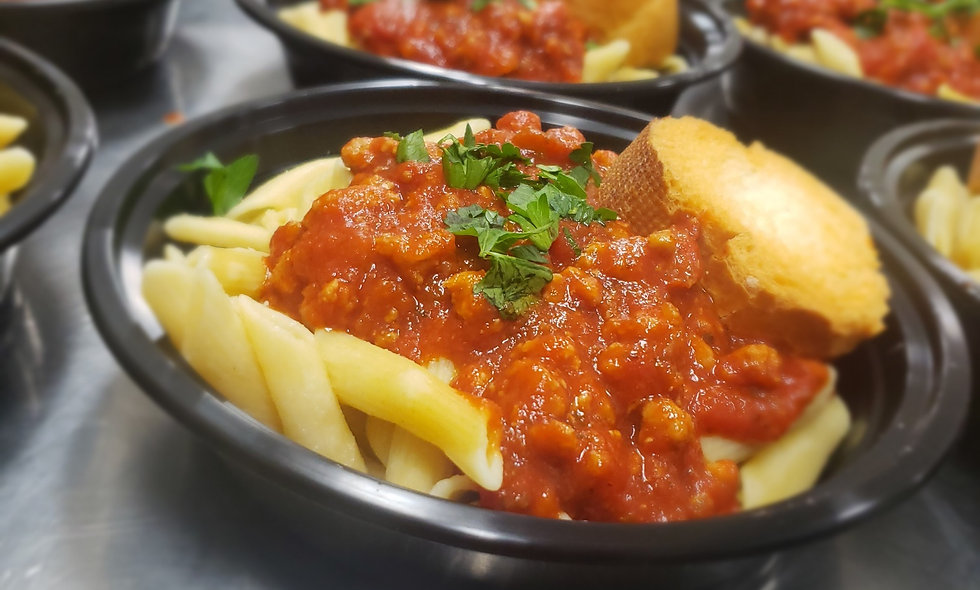 ThankQue Bowl - Pasta?