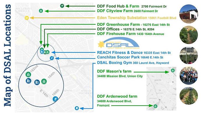 Map of DSAL Locations
