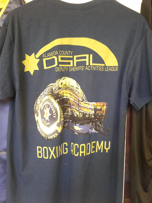 DSAL Boxing Academy 2017 Cotton Shirts Blue