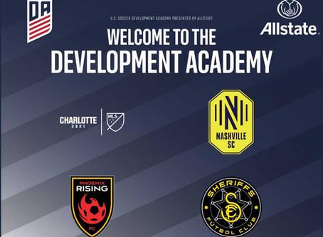 U.S. Soccer Development Academy, Finalizes Membership For 2020-21 Season