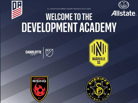 U.S. Soccer Development Academy, Finalizes Membership For 2020-21 Season