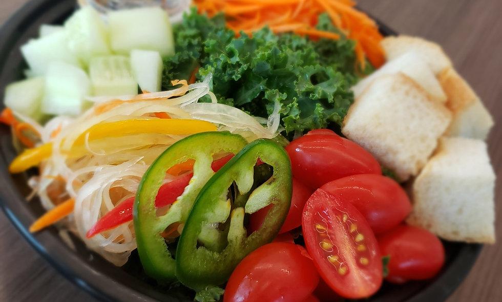 ThankQue Bowl - Salad?