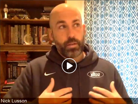 "Live with Nick Lusson on ""New Coaching Role"" Addressing the Psychological and Child Safety Crisis..."