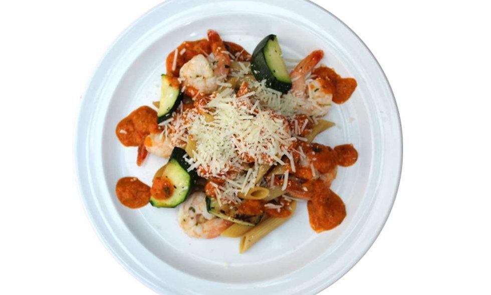 Shrimp Salsa Rossa