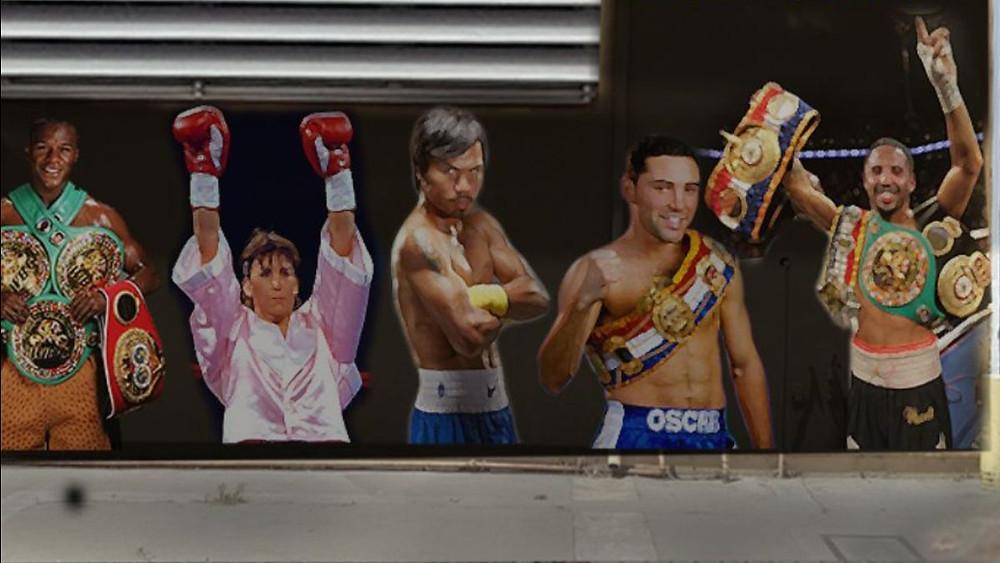 Boxing Mural