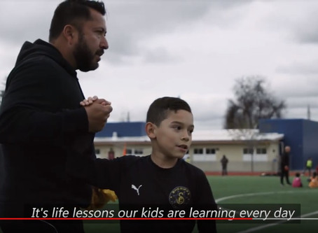 2019 Double-Goal Coach® Award Winner Omar Cervantes