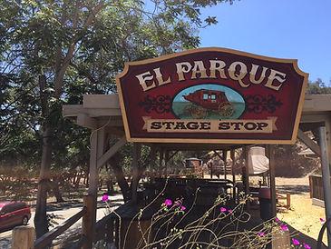 El Parque Stage Stop