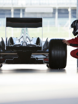 Indy car race