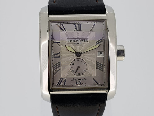 Raymond Weil Don Giovanni  Model  2875-STC-00658 silver dial