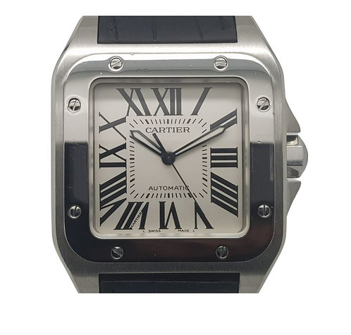 Cartier Santos 100 W20076X8 dial