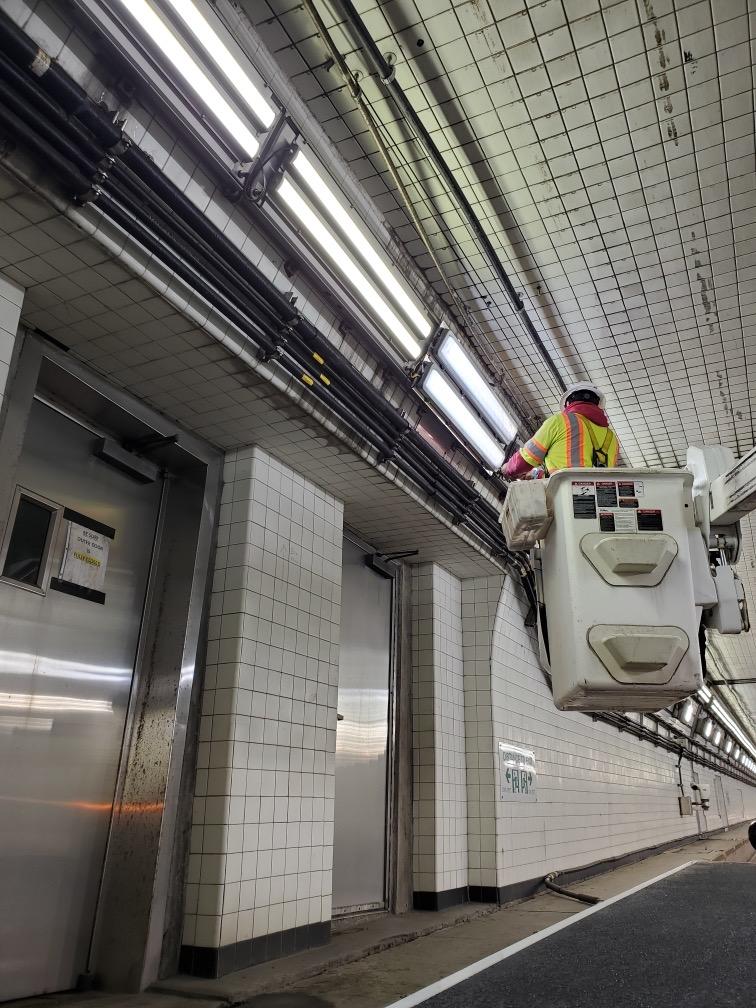 ERC Midtown Tunnel Custom Installation