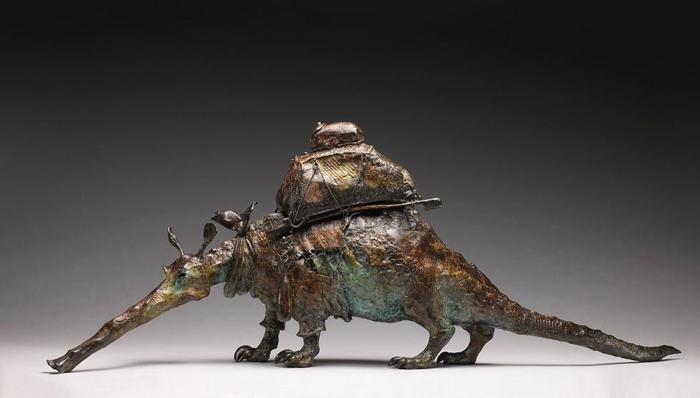 Aardvark in Plaid