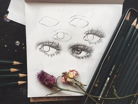 The Beginner's Guide To Drawing Realistic Eyes (4 simple steps!)