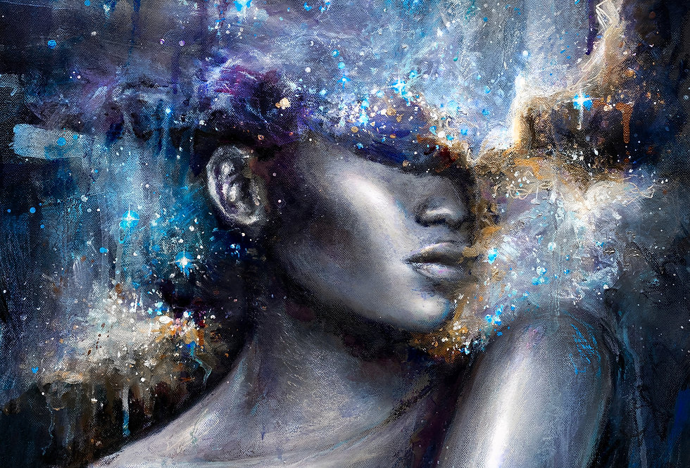 """cosmic consciousness"" original painting"