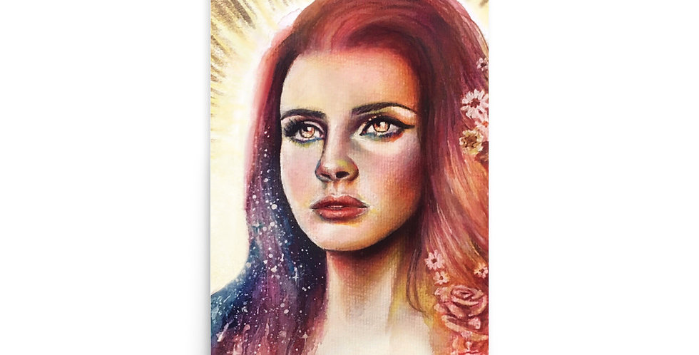 """stargazing"" print"
