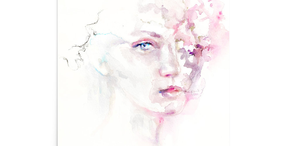 """dissolving thought"" fine art print"