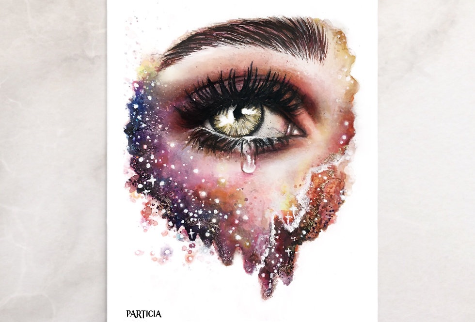 """glance into galaxy"" print"