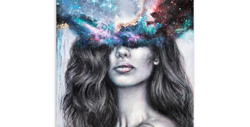 """inner realms"" mini print"