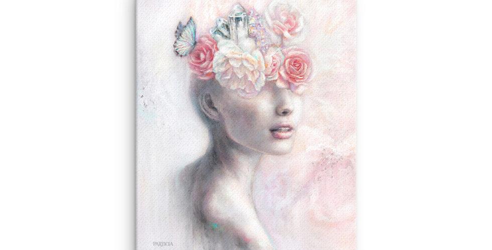 """""""garden of my mind"""" canvas print"""