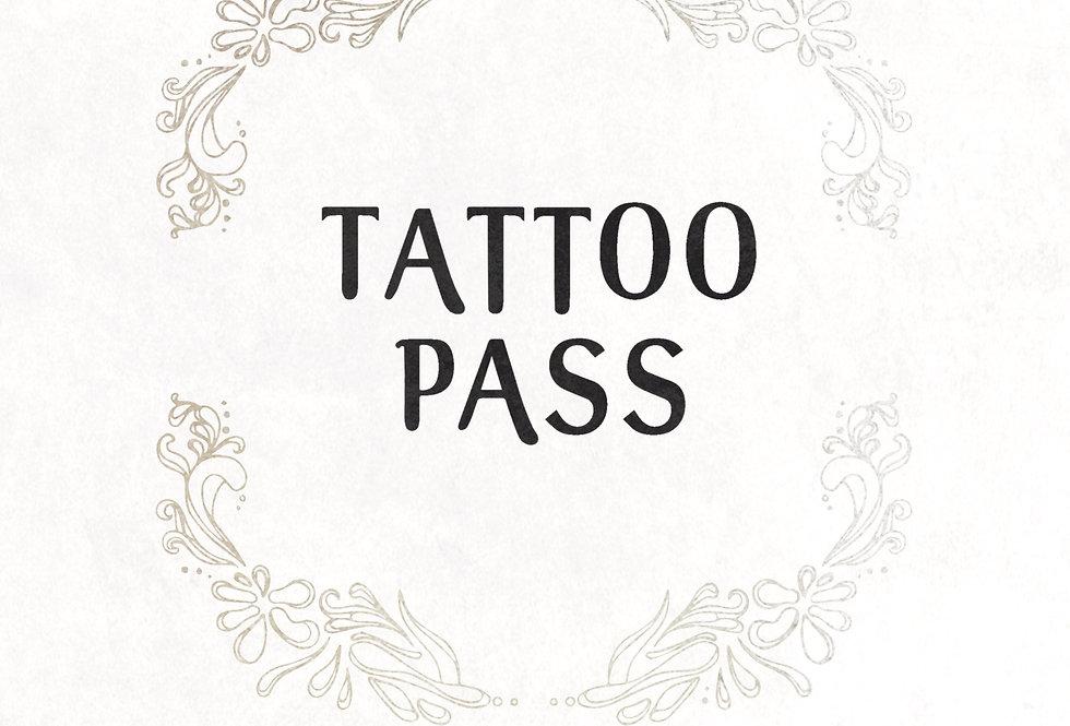 tattoo pass